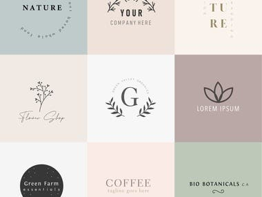 Logo Design (Minimal/Elegant/Modern)