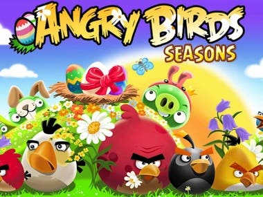 Angry Birds Season Game