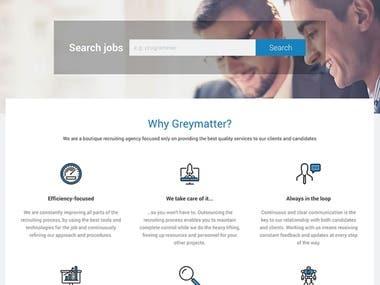 Recruiting & Jobs platform Greymatter.hr