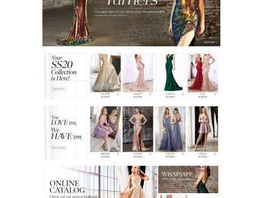 Dress Selling Web Site