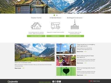 ExpressJS web site