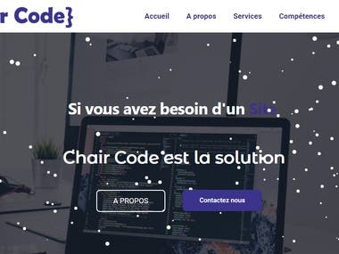 ChairCode Website : chaircode.tn