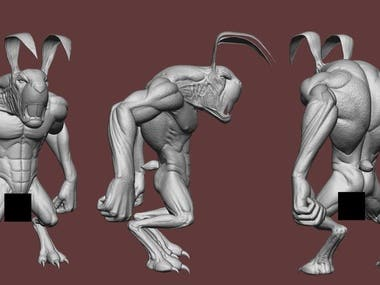 3D Zbrush Details, Animals & Armors