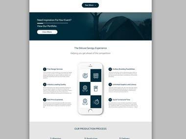 Re-Design for website