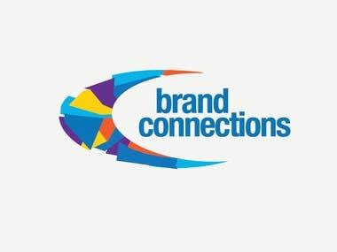 brand connection logo design
