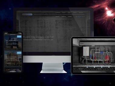 CORPORATE WEBSITE OF AN ENGINEERING COMPANY SPSERVICE