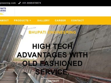 web design & development ( https://bhupatiengineering.com/)