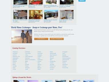 Real Estate Website : worldhomeexchanges.com