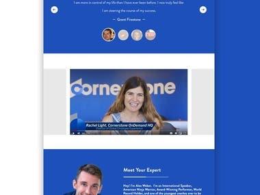 Designing for website