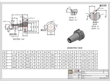 3D modelling & Drafting
