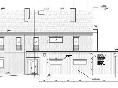 Single-family house project (residential)