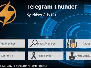 Telegram Scraping Software