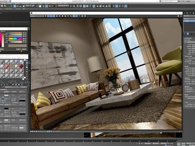 Interior Design / 3D Modeling and 3D Rendering