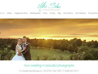 Mike Silve | Wedding Photography