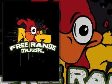 Freerange Muzik Logo