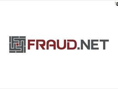 Fraud.net logo winning entry