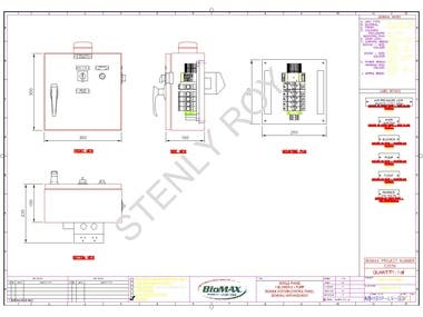 ELECTRICAL SCHEMATIC AUTOCAD DRAFTING WORK
