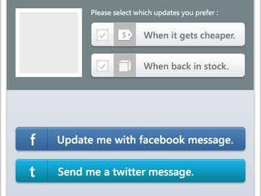 App design for shapp.ly