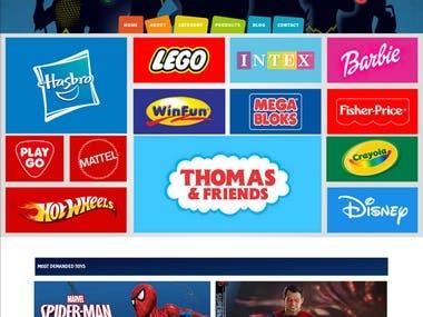 Juniors - Children Toys Site