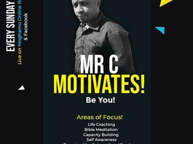 Motivational Speaker Simple Poster