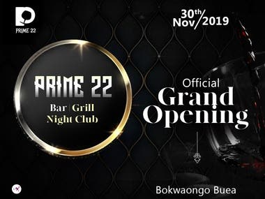 Prime 22 Grand Opening