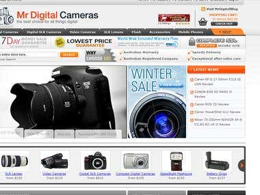 Mr Digital cameras