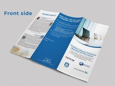 Brochure Design for Training Purpose