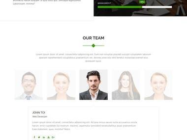 Zakkash - Corporate & Personal Minimal Portfolio Template