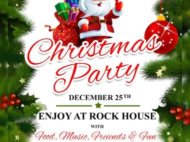 Flyer | Christmas Party