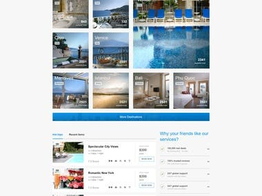 Booking Web System