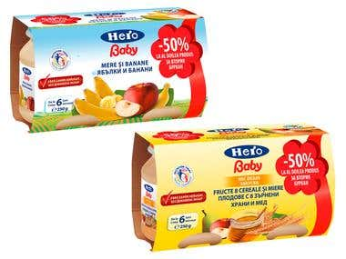 Baby Food packaging