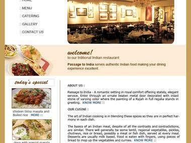 Another Restaurant Website