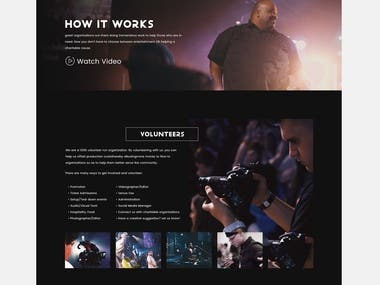 Website for Genesis Productions