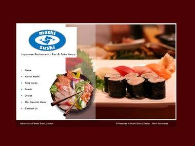 Again a Restaurant website