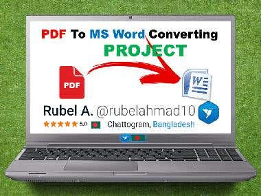 08. PDF to MS Word