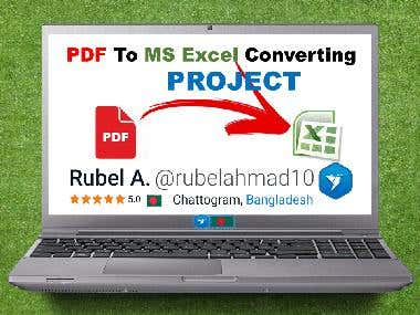 05. PDF To MS EXCEL