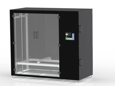 3D Printer Design (X1200Y800Z1500)