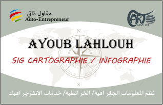 Brochure with Business Card