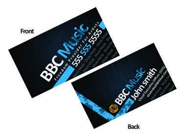 business card design by me