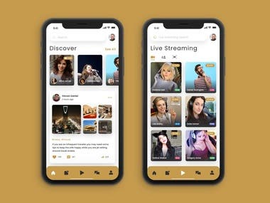 Social Stream App