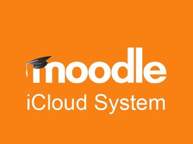 iCloud system and Moodle application