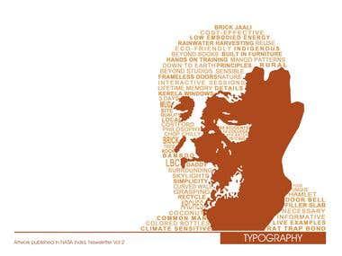 Typographic Face