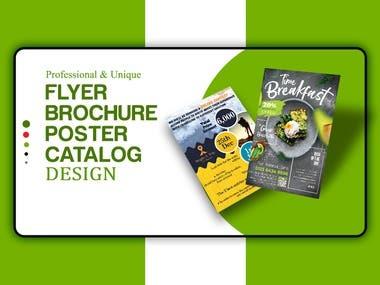 Flyer and Brochure Design