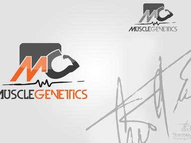 "#""MuscleGenetics"" - Logotype"