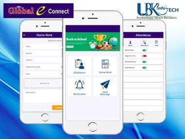 School management app for staff