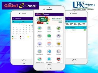 School management app (student and Parent )