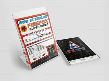 Flyer Designed for Sports Store