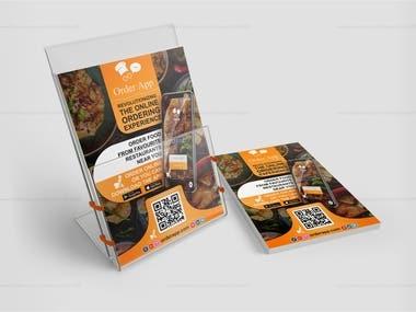 Flyer Design for Online Food Orders