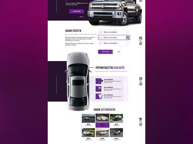 Auto Sales Site