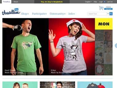 Threadless graphic t-shirt designs